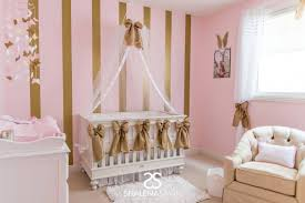 Pink Gold Bedroom by Pink And Gold Nursery Sophie S Pink And Gold Nursery Project