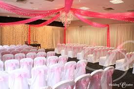 wedding drapes venue dressing at milton hill house hotel wedding creative