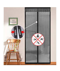 Magic Mesh Curtain Magic Mesh Single Door Pvc Curtains Curtain Stripes Black Buy