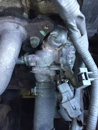 lexus is200 white smoke coolant leak and oil pressure light failed car start engine