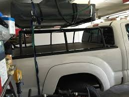 nissan titan bed rack bed rack with tonneau cover expedition portal