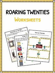 the roaring twenties facts worksheets u0026 historic information for kids