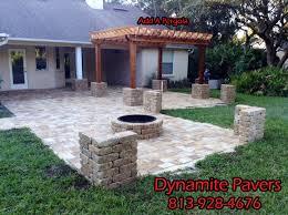 pergolas tampa backyard patios tampa yard crashers patio pavers