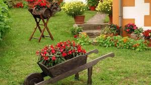 Backyard Flower Gardens by Beautiful Nature Flowers Garden Wallpaper