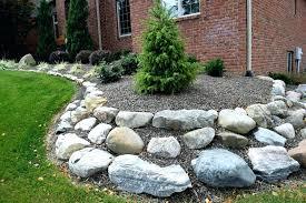 Rock For Garden Big Rock Garden Cafedream Info
