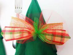 christmas napkin rings table linens napkin rings table decor set of 6 handmade kitchen dining
