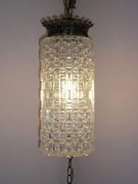Plug In Crystal Chandelier Plug In Swag Lamps Foter