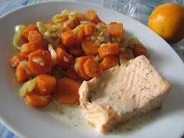 cuisiner des carottes en rondelles recettes de saumon au fenouil et carottes regime mince alors
