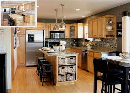 honey oak cabinets what color floor kitchen white and wood kitchen light grey kitchen walls kitchen