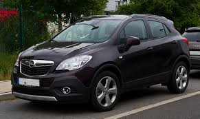 opel india opel mokka wikipedia