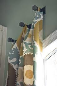 Properly Hanging Curtains Curtain Fascinating Different Ways To Hang Curtains Nice Ideas How