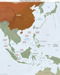 China Sea Map by China U0027s Maritime Choke Points Geopolitical Futures