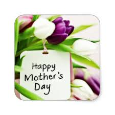 mothers day stickers happy mothers day tulips stickers zazzle