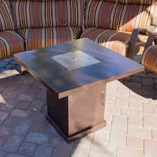 Outdoor Furniture With Fire Pit by Az Patio Heaters Steel Propane Fire Pit Table U0026 Reviews Wayfair