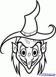 coloring good drawings witches coloring