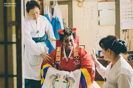 wedding wishes in korean traditional wedding at korean folk jun park photo