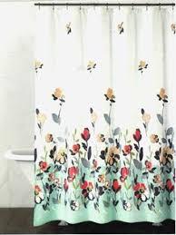 Salmon Colored Shower Curtain Tahari Fabric Shower Curtain Gray Words Writing On White Shower