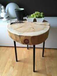 the most popular wood trunk table residence ideas wooden side