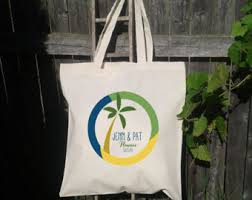 palm tree tote etsy