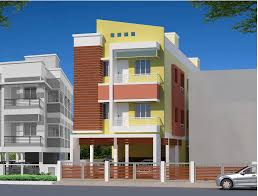 two storey residential building floor plan elevation of double store buildings gharexpert elevation of double