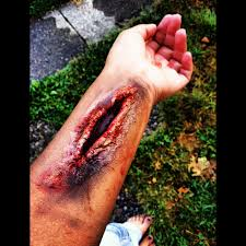 horror fx special effects halloween makeup costume wound fake