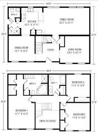 two story open floor plans rectangle house floor plans rectangular house plans modern floor