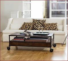 industrial coffee table with drawers industrial coffee table wheels home design ideas