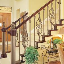 European Interior Design European Interior Design Showily Aluminum Stair Railing Antique