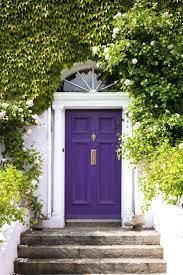 garage door and front color combinations purple doors palette