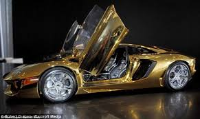 how much are the lamborghini cars gold lamborghini worth 4m pictured in could be s most