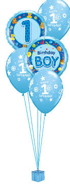 boy 1st birthday boys1st birthday balloon bouquet party fever