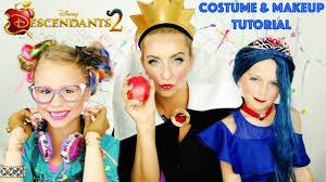 Costumes U0026 Accessories Costco Disney Descendants 2 Evie Cotillion Makeup U0026 Costume Tutorial
