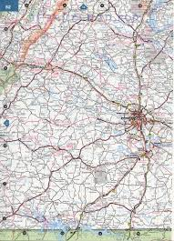 Southeastern United States Map by Southeast Virginia Map