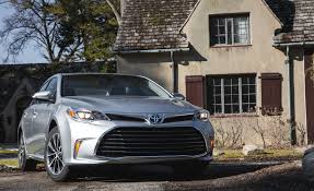 lexus v8 fuel economy 2017 toyota avalon in depth model review car and driver