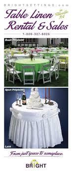 7 Best Bright Settings Table Linen Rental Images On Pinterest