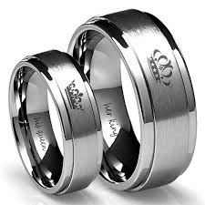his and rings wedding ideas wedding ideas black gold his and hers ring sets