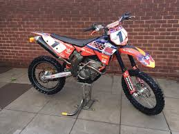 ktm motocross bike ktm sxf 250 2008 motocross bike in stockport manchester gumtree