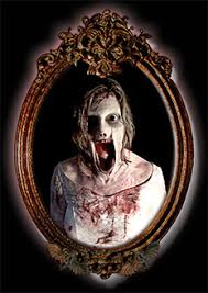 Scary Halloween Props The Ever So Horrifying Scary Mary Mirror Halloween Prop Scary