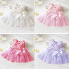 newborn baby tutu dress birthday skirt clothes 0