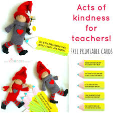 acts of kindness ideas for teachers the imagination tree