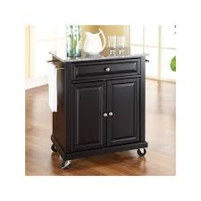 kitchen islands and carts furniture crosley furniture granite top kitchen island cart other clrs