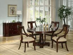 Cherry Wood Dining Room Set by 5pc Dining Table Set U2013 Thelt Co