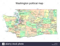 Washington State Map Outline by Washington State Map Stock Photos U0026 Washington State Map Stock
