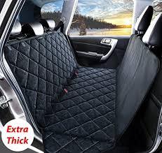 fypo pet car seat cover large medium dog car blanket mat rear back