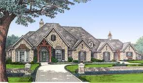 european country house plans 120 2164 this image shows the front elevation of these luxury