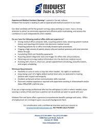 Sending A Resume With No Job Posting Midwest Pain U0026 Spine Llc Linkedin