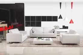 White Leather Sofa Modern Modern White Leather Sofa Set Pertaining To Designs 2