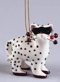 cat hanging ornaments alley cats country artists hanging