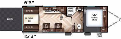 Rexall Floor Plan Eclipse Attitude Toy Hauler Floor Plans Gallery Home Fixtures