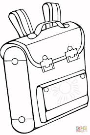 bag coloring page free printable coloring pages